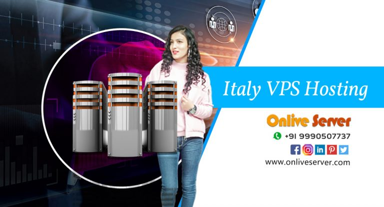 Italy VPS Hosting With flexible &  faster business website